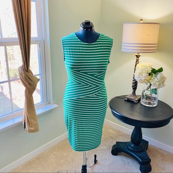 Viwenni Dresses & Skirts - Viwenni Striped Bodycon Dress Size XXL